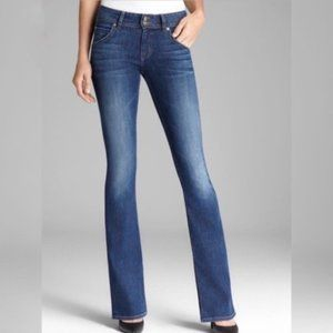Hudson Signature Bootcut Flare Medium Wash Jeans